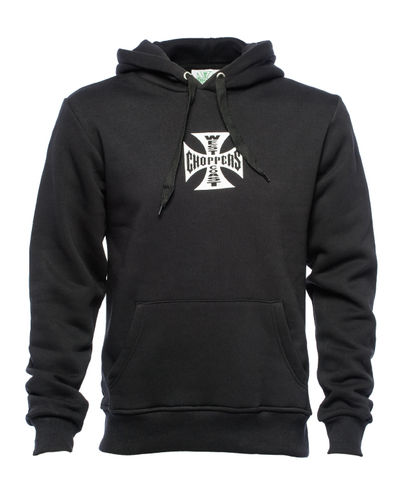 Iron Cross Hoodie black Pullover