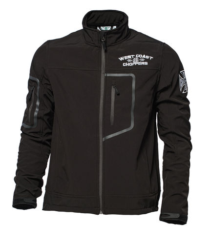 OG Cross Softshell Jacket black