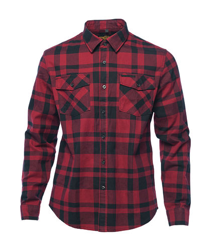 Austin Flannel Shirt red