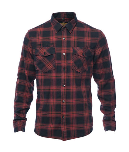 Dominator Flannel Shirt red