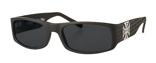Sunglasses Gangscript glasses matte black
