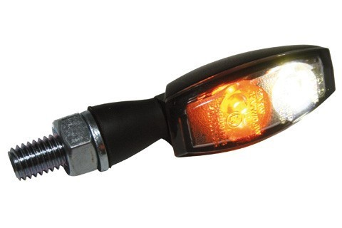 Highsider LED-Blinker/Positionsleuchte BLAZE, sw, getönt